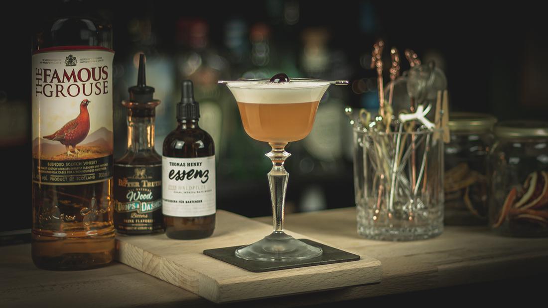 Whisky Sour ohne Bourbon: Der Scotch Sour